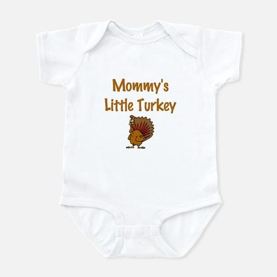 Mommy's Little Turkey Infant Bodysuit