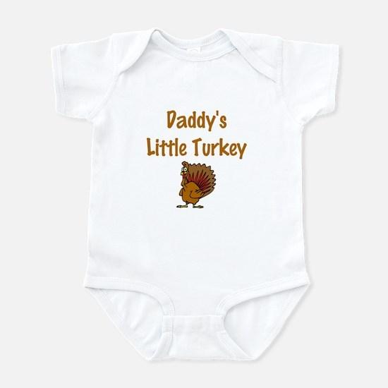 Daddy's Little Turkey Infant Bodysuit