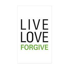 Live Love Forgive Decal