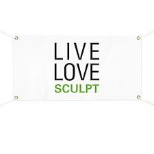 Live Love Sculpt Banner