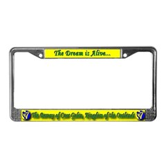 Caer Galen populace License Plate Frame