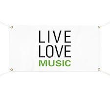 Live Love Music Banner