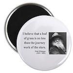 Walt Whitman 19 Magnet