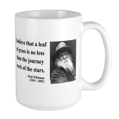 Walt Whitman 19 Large Mug