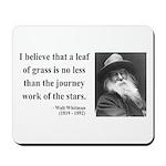 Walt Whitman 19 Mousepad