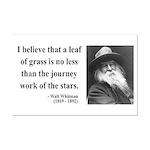 Walt Whitman 19 Mini Poster Print