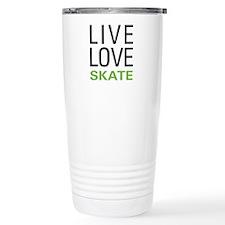 Live Love Skate Travel Mug