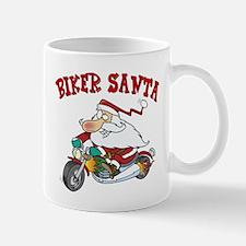 Biker Santa Mug