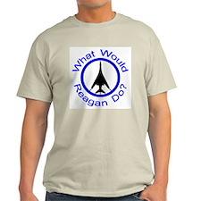 What Would Reagan Do? v3 Ash Grey T-Shirt