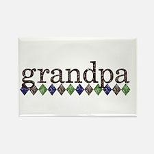 grandpa t-shirts grunge style Rectangle Magnet