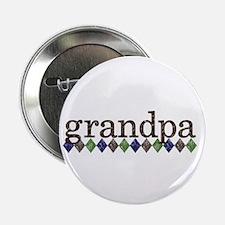 """grandpa t-shirts grunge style 2.25"""" Button"""