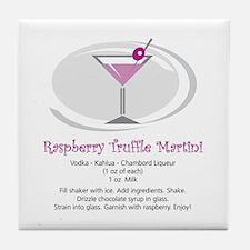Martini Tile Coaster (Raspberry Truffle)