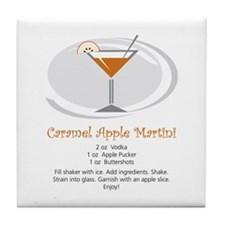 Martini Tile Coaster (Caramel Apple)
