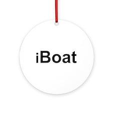 iBoat Ornament (Round)