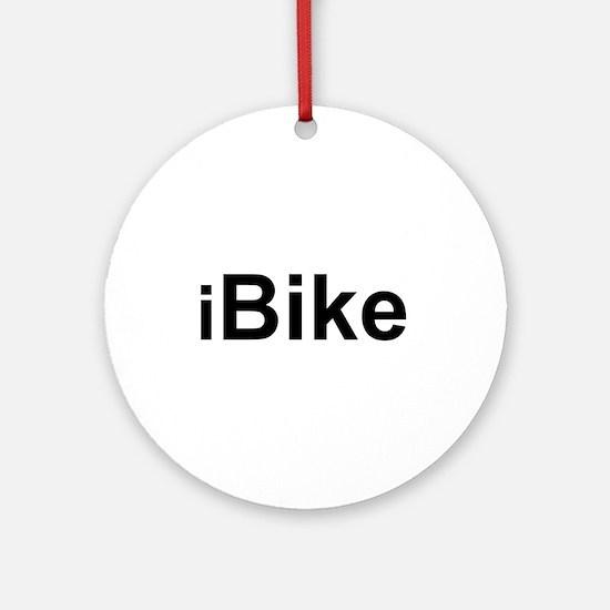 iBike Ornament (Round)