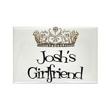 Josh's Girlfriend Rectangle Magnet