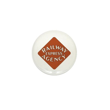 Railway Express Poster 1935 Mini Button (10 pack)