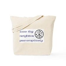 Koy's Logo + Pre-emptively Tote Bag