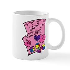 Happy 1st Birthday Mug