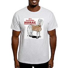 It's Icelandic HORSE Ash Grey T-Shirt