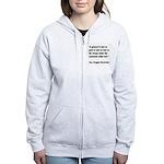 MacArthur General and Troops Women's Zip Hoodie