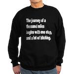 Beginning a Journey Sweatshirt (dark)