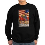 Teamwork Wins Poster Art Sweatshirt (dark)