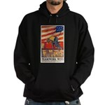 Teamwork Wins Poster Art Hoodie (dark)