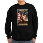 Over the Top Liberty Bonds Sweatshirt (dark)