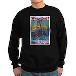 Careless Work Warning Poster Sweatshirt (dark)