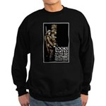Books Wanted Poster Art Sweatshirt (dark)