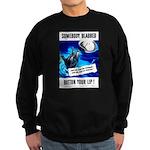 Somebody Blabbed Gossip Sweatshirt (dark)