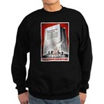 Books Are Weapons Poster Art Sweatshirt (dark)