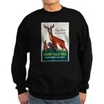Prevent Forest Fires Sweatshirt (dark)