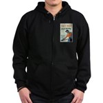 Get Hot Keep Moving Zip Hoodie (dark)