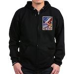 Have & Hold American Flag Zip Hoodie (dark)