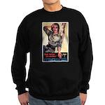 More Nurses Poster Art Sweatshirt (dark)