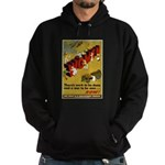 Women Power Now Poster Art Hoodie (dark)