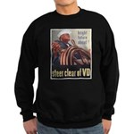 Steer Clear of VD Poster Art Sweatshirt (dark)