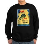 Leap Don't Lag Frog Sweatshirt (dark)