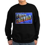 Fort Custer Michigan Sweatshirt (dark)