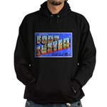 Fort Custer Michigan Hoodie (dark)