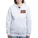 Fort Sill Oklahoma Women's Zip Hoodie
