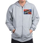 Camp Wolters Texas Zip Hoodie
