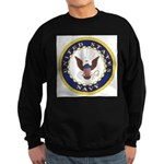 United States Navy Emblem Sweatshirt (dark)