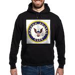 United States Navy Emblem Hoodie (dark)