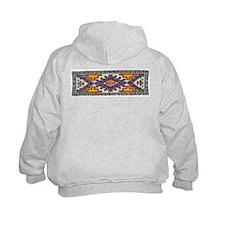 Beaded Tribal Band Hoodie