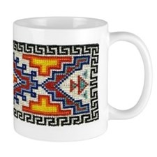 Beaded Tribal Band Mug
