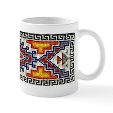 Beaded Tribal Band Small Mug