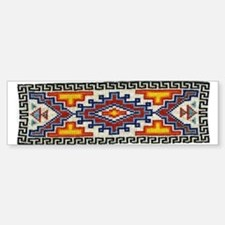 Beaded Tribal Band Bumper Bumper Bumper Sticker